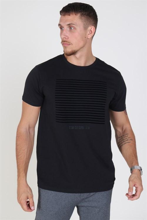 Clean Cut Hugo T-shirt Black