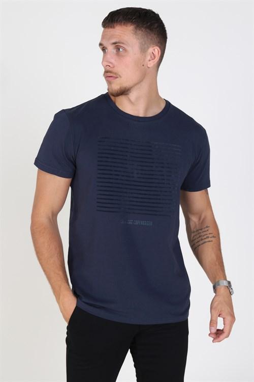 Clean Cut Hugo T-shirt Navy