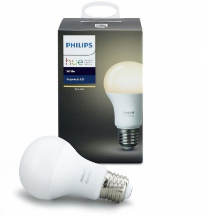 Philips Hue - E27 Bt Single Bulb - White