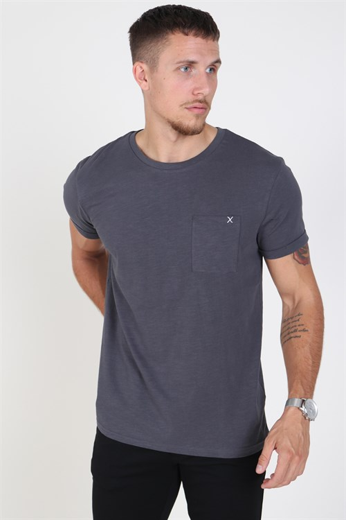 Clean Cut Kolding T-shirt Charcoal