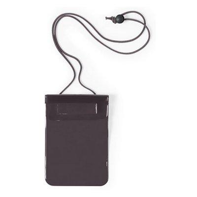 Vandtæt Mobilpose Cover Til iPhone Og Android Smartphones - Sort