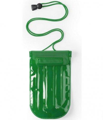 Vandtæt Mobilpose Cover Til iPhone Og Android Smartphones - Grøn