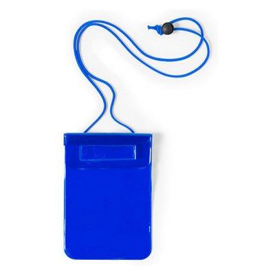 Vandtæt Mobilpose Cover Til iPhone Og Android Smartphones - Blå