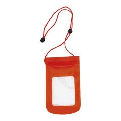 Vandtæt Mobilpose Cover Til iPhone Og Android Smartphones - Rød