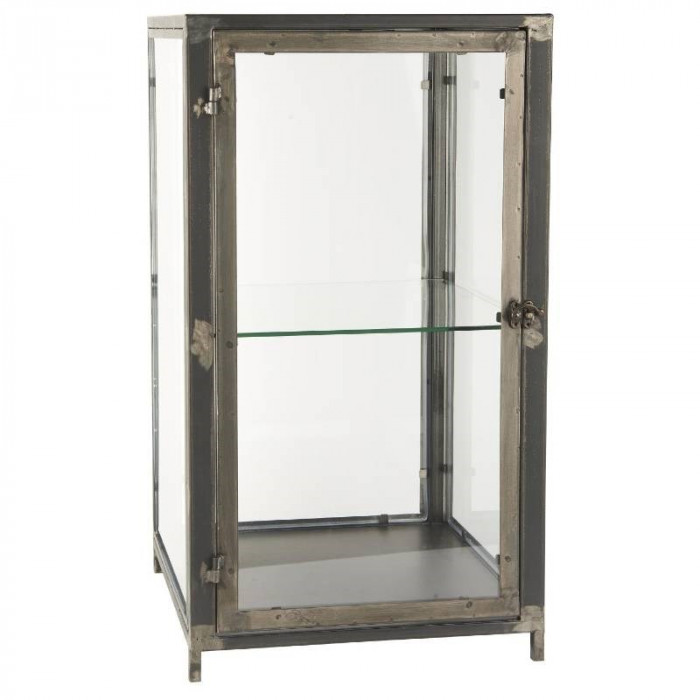 Ib laursen glasskab stående m/1 hylde (metal/35x63,5x35,7 cm)