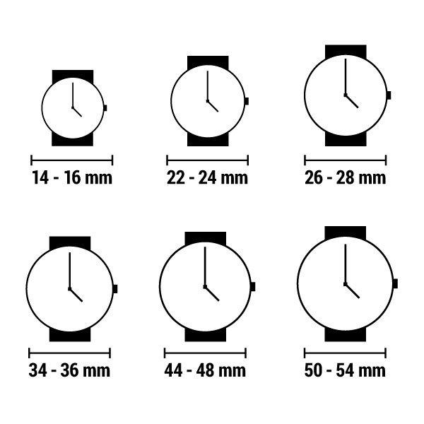 Chronotech - Armbåndsur Til Børn - Asterix - 33 Mm - Ct7896Ls-88 - Sort Hvid