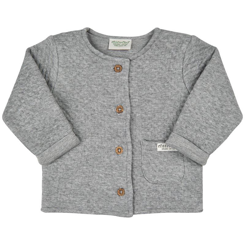 Minymo quilt cardigan 180582
