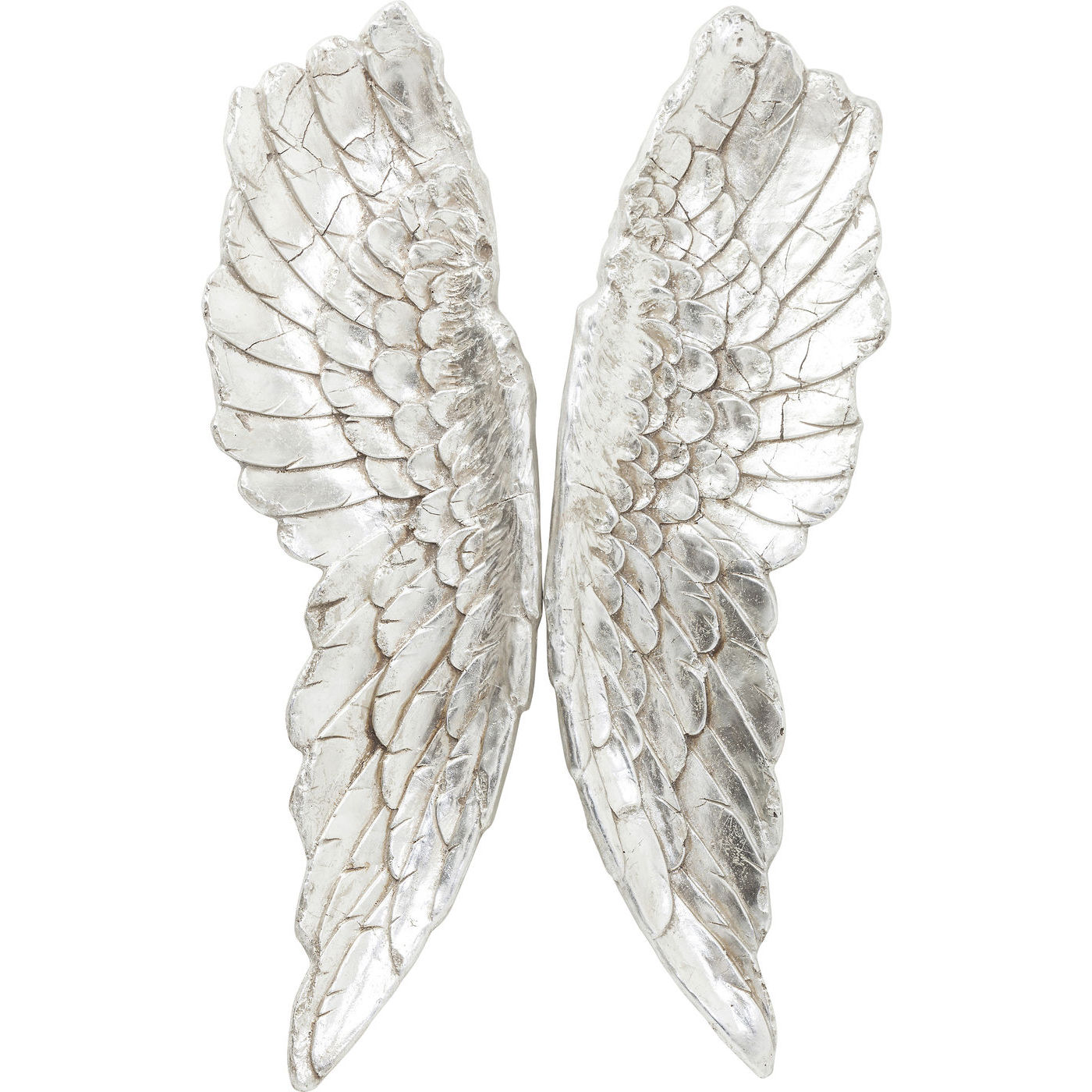 KARE DESIGN Angel Wings vgdekoration - slv polyresin (106x61)