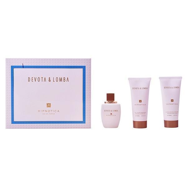 Parfume sæt til kvinder Hipnotica Devota & Lomba 28244 (3 pcs)