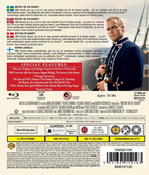 Mytteriet På Bounty - Blu-Ray