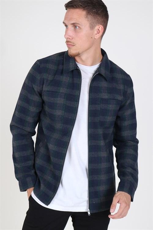 RVLT Flannel Skjorte Grey