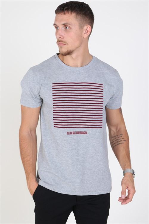 Clean Cut Hugo T-shirt Grey Melange