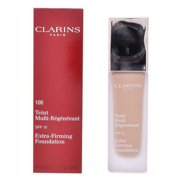 Flydende makeup foundation Teint Clarins Spf 15 (30 ml)