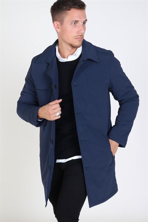 Tailored & Originals Machi Jakke Insignia Blue