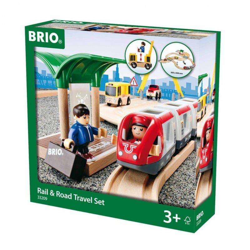 Brio - Tog- Og Vejbane, Rejsesæt - 33209