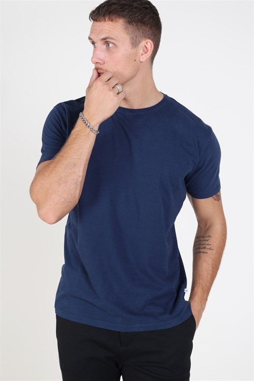 Kronstadt Basic T-shirt Blue