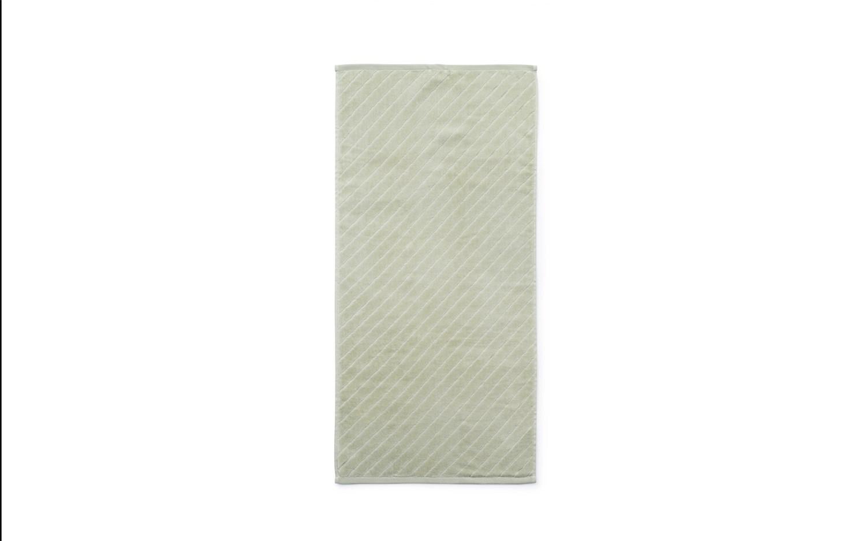 Normann Copenhagen - Imprint håndklæde - Slash pistachie - 70x140