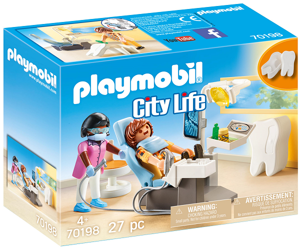 Lægespecialist: Tandlæge - PL70198 - PLAYMOBIL City Life