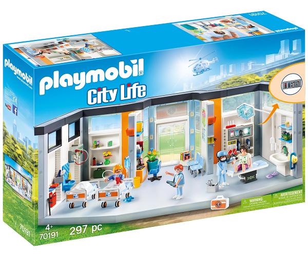 Hospitalsstue til børn - PL70192 - PLAYMOBIL City Life