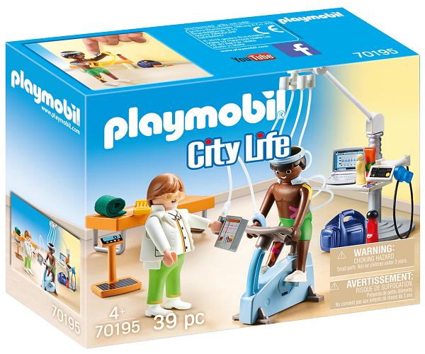 Lægespecialist: Fysioterapeut - PL70195 - PLAYMOBIL City Life