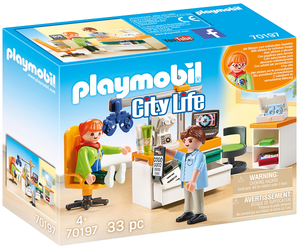 Lægespecialist: Øjenlæge - PL70197 - PLAYMOBIL City Life