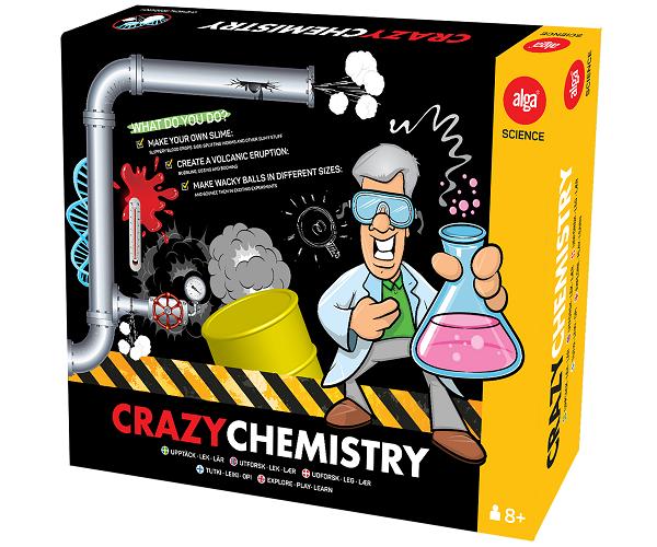 Crazy Chemistry - Alga Science