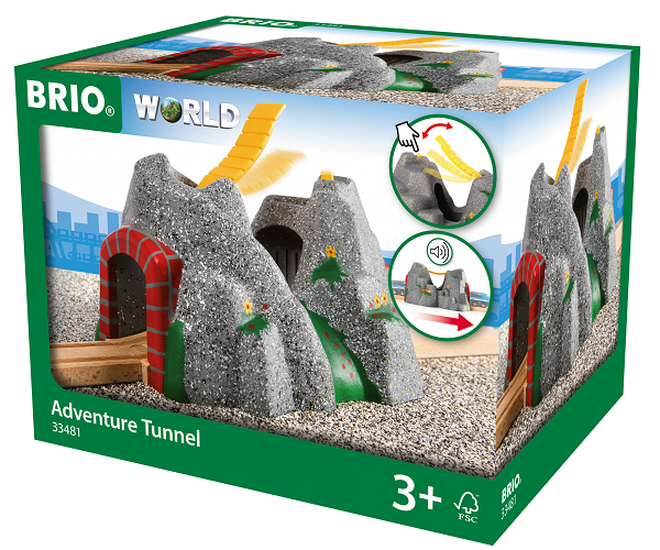 Eventyrtunnel med lyde - 33481 - BRIO