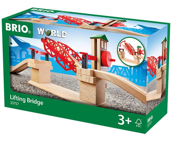 Løftebro - 33757 - BRIO