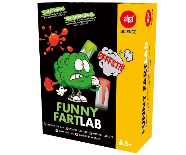 Funny fart lab - Alga Science