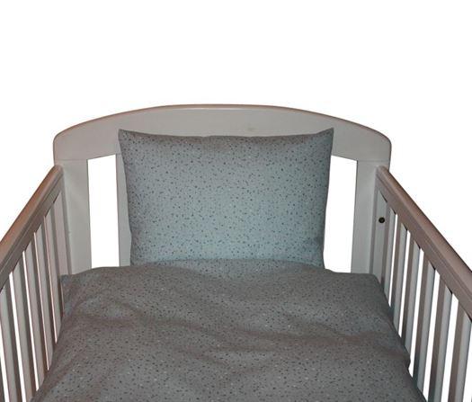 Baby sengetøj, Blue Dots - Nørgaard Madsen