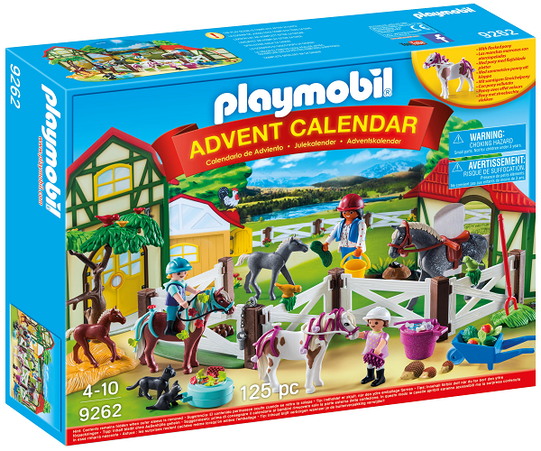 "Julekalender ""Ridecenter"" - PLAYMOBIL Country"