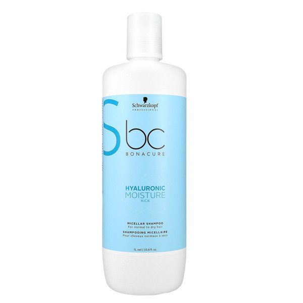Schwarzkopf BC Hyaluronic Moisture Kick Shampoo, 1000ml
