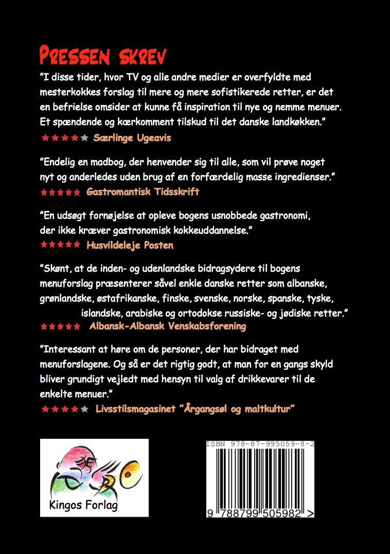 Værtens Værste Menuer - Jens Sølund - Bog