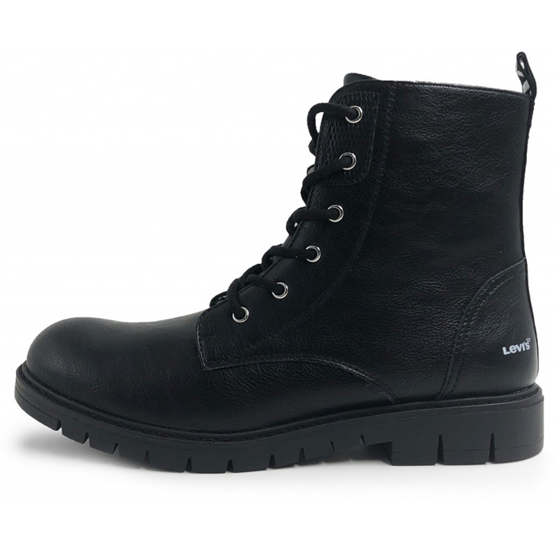 Bianco Sko April Worker Boot White