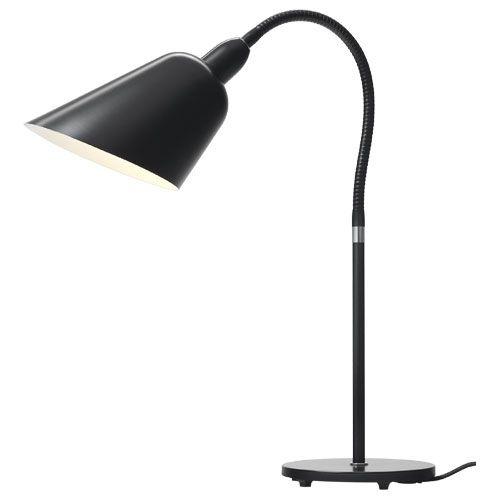 &tradition - Bellevue bordlampe (Arne Jacobsen) - AJ8 i sort