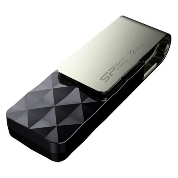 USB-stik Silicon Power Blaze B30 32 GB Sort