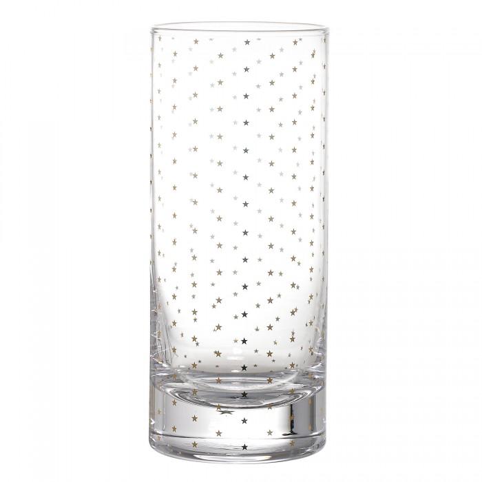 Bloomingville drikkeglas (guldstjerner/h16,5 cm)