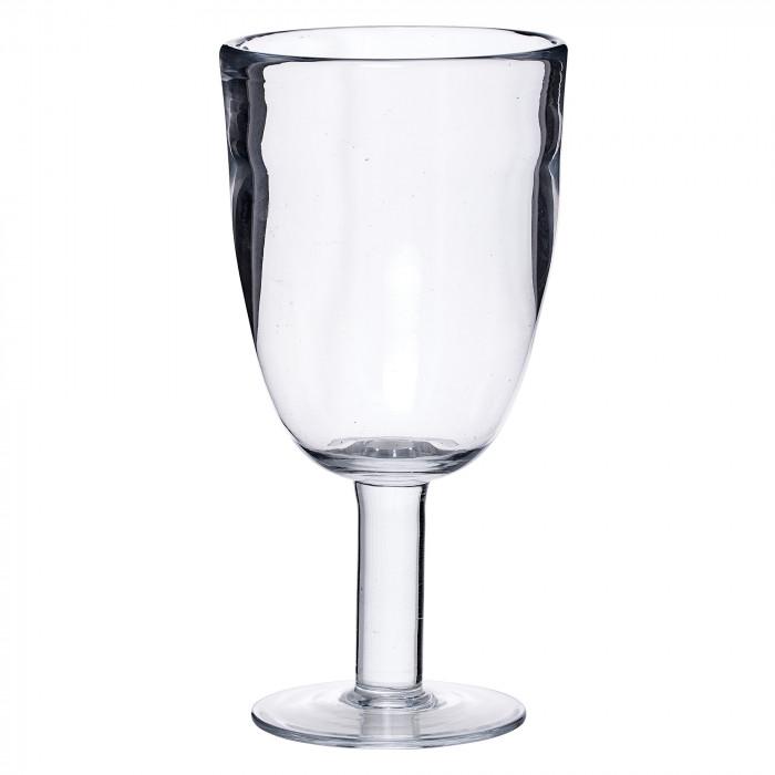 Bloomingville vinglas (klar/h18,5 cm)