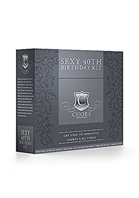 Sexy 40th - Fødselsdagssæt fra Cuore Romantico