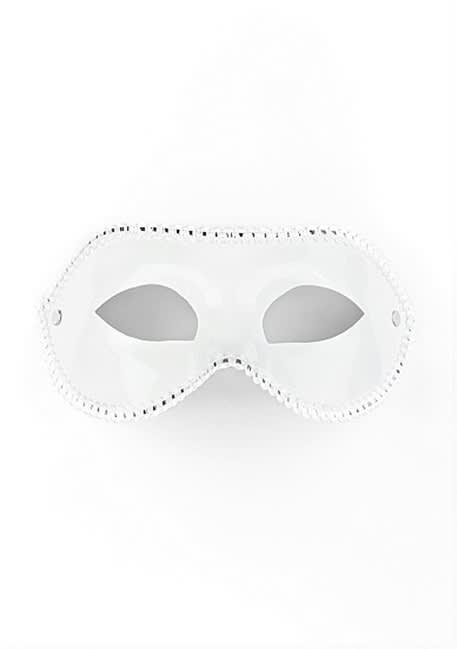 Ouch! - Maske til fest - Hvid