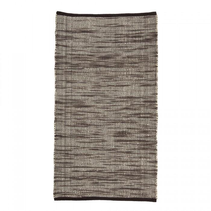 Bloomingville tæppe (brun)