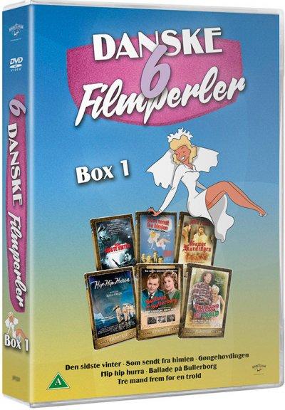 6 Danske Filmperler - Boks 1 - DVD