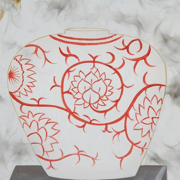Oliemaleri (80 x 5 x 80 cm) by Homania