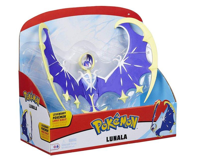 Pokémon Figurer - Lunala - 30 Cm Stor & Legendarisk