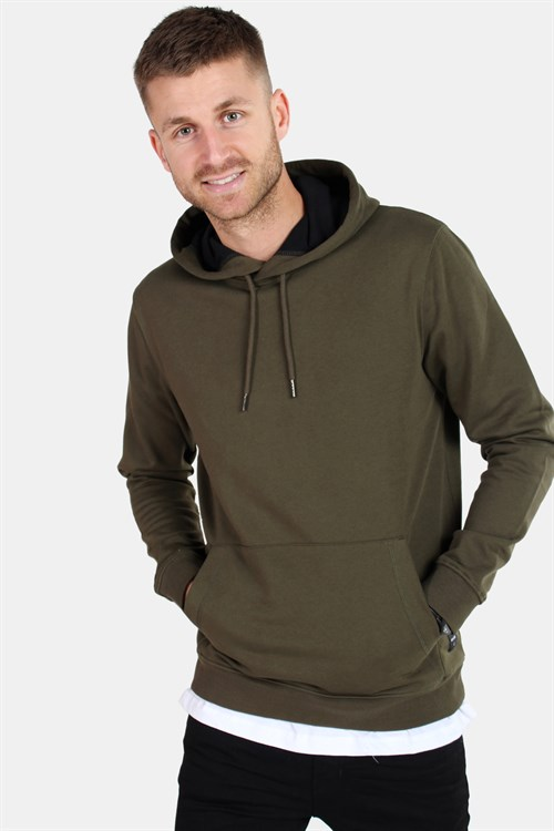 Only & Sons Basic Sweat Hoodie Brushed Forest Night