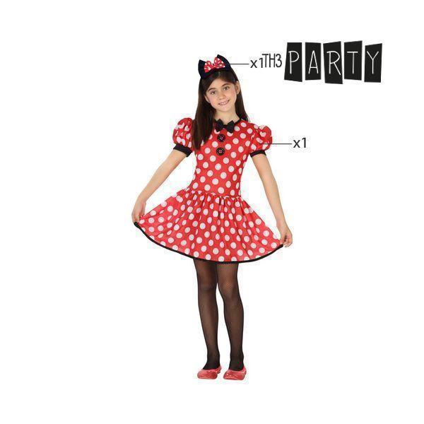Kostume til børn Minnie Mouse 9489