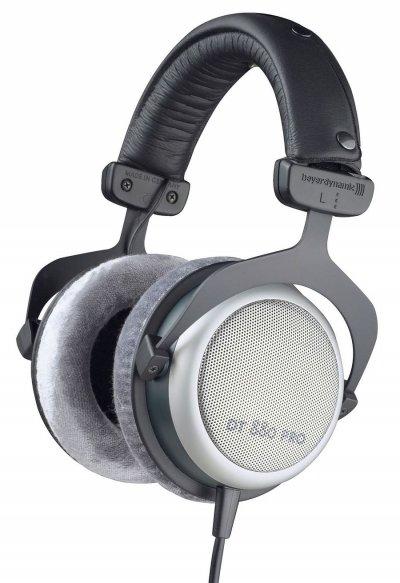 Beyerdynamic Dt 880 Pro - Over-Ear Hovedtelefoner 250 Ohm - Grå Sort