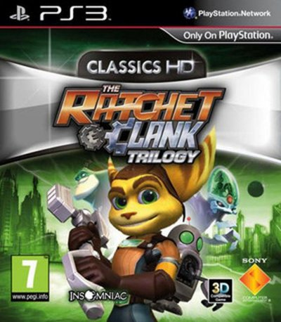 Ratchet & Clank Trilogy: HD Collection - Nordic - PS3