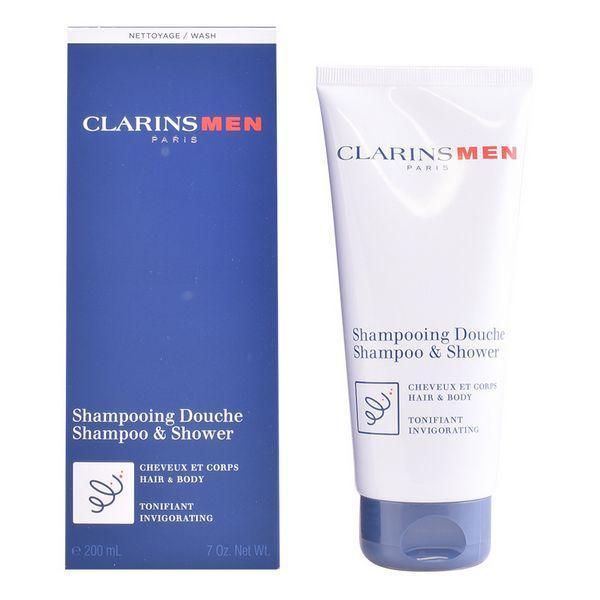 Gel og Shampoo 2 i 1 Men Clarins (200 ml)