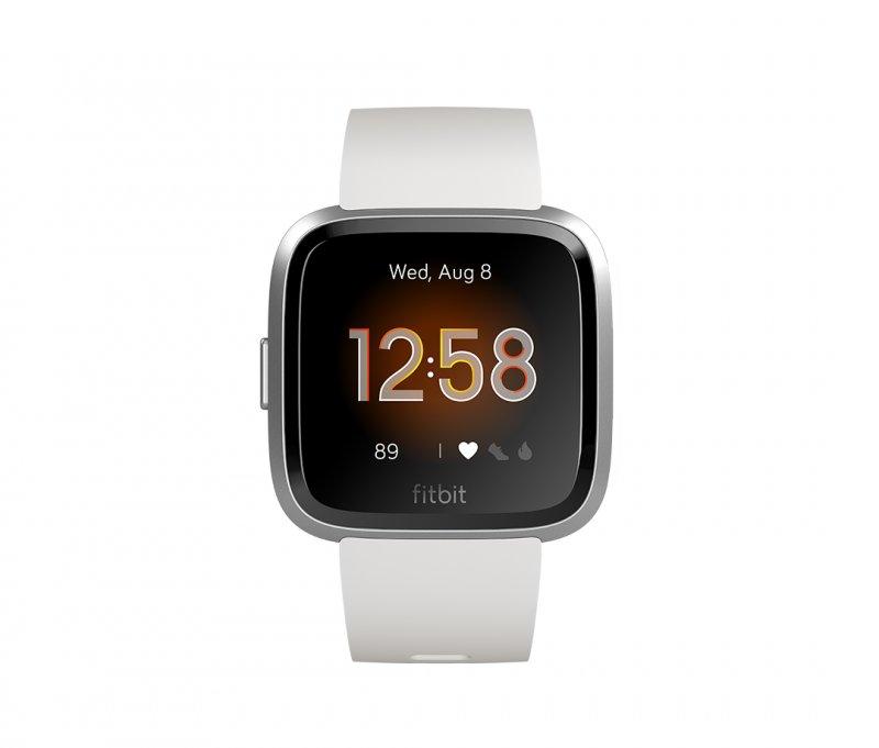 Fitbit - Versa Lite - Smartwatch Med Pulsur - Hvid Sølv